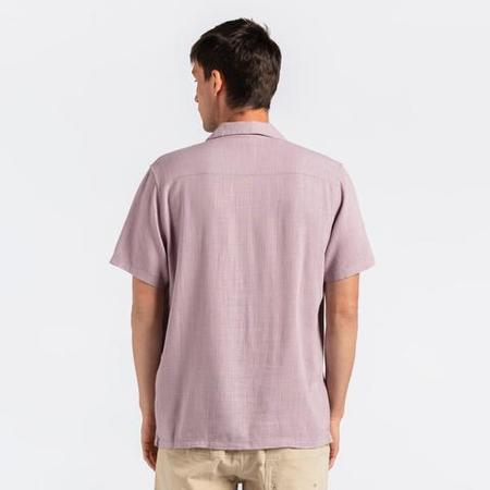 Banks Journal Brighton S/S Shirt - Pale Lavender