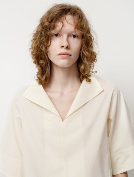 Studio Nicholson Brueur Top - Milk White