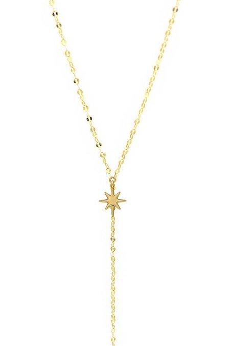 Paradigm Design Twilight Lariat Necklace - Gold