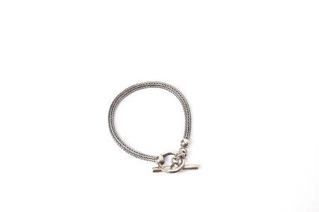 KC Vintage Silver Wheat Chain Bracelet