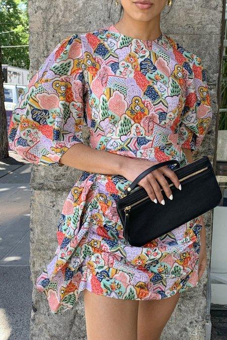 Rhode Resort Pia Mini Dress - Multi Wallflower