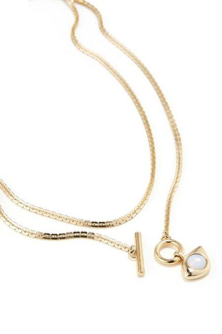 Jenny Bird Veaux 4-in-1 Wrap Necklace - Gold