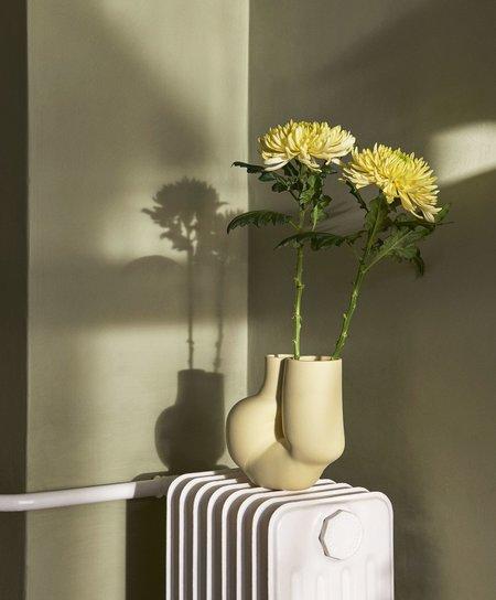 Hay W&S Chubby Vase - Soft Yellow