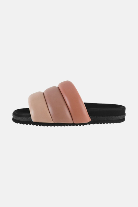 ROAM Women's Puffy Slide Shoes - Rose