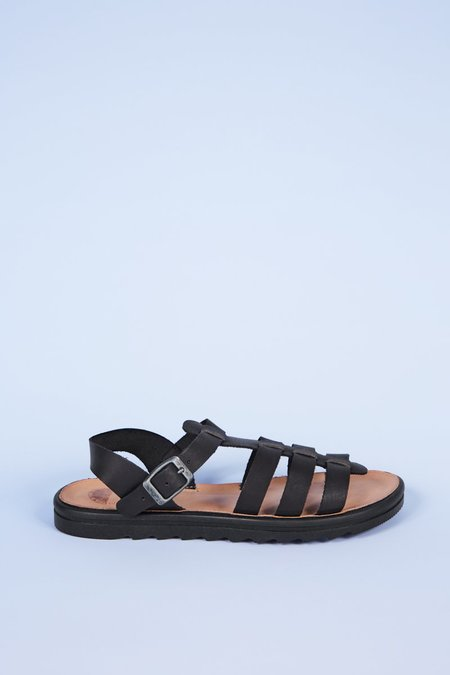 """""""INTENTIONALLY __________."""" Direct Sandals - Black"""