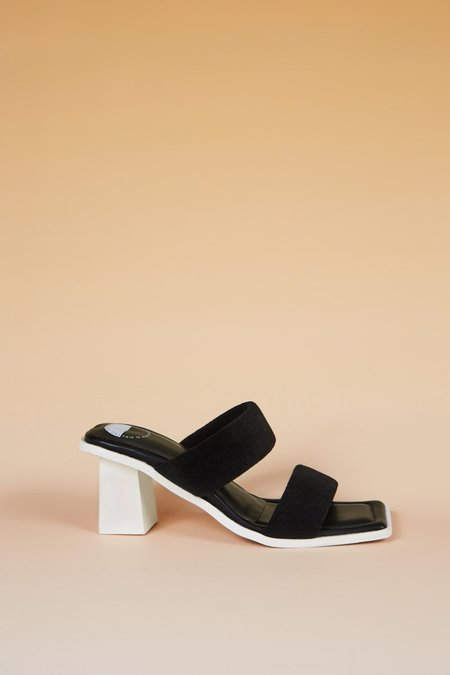 """INTENTIONALLY __________."" Thursday Sandals - Black"