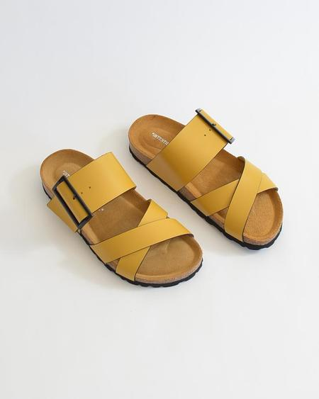 Vamp Shoes Intentionally Blank Meredith sandals - Yellow