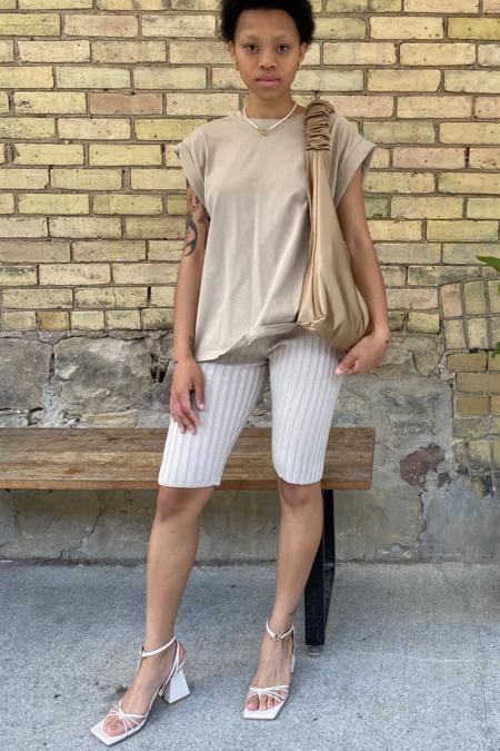 Pastiche Morley Biker Shorts - Cream