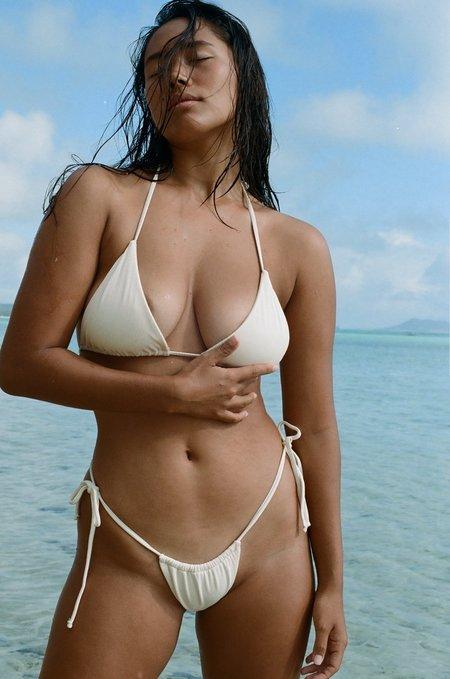 Abysse maya top - dune rib