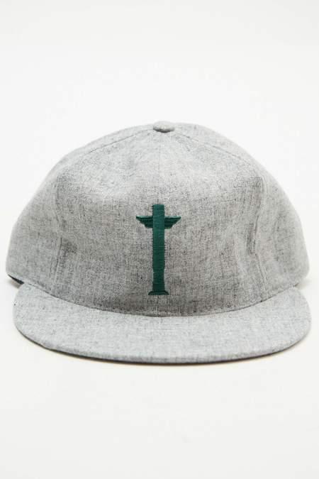 Totem Brand Co. x Ebbets Cap - Grey Heather Wool