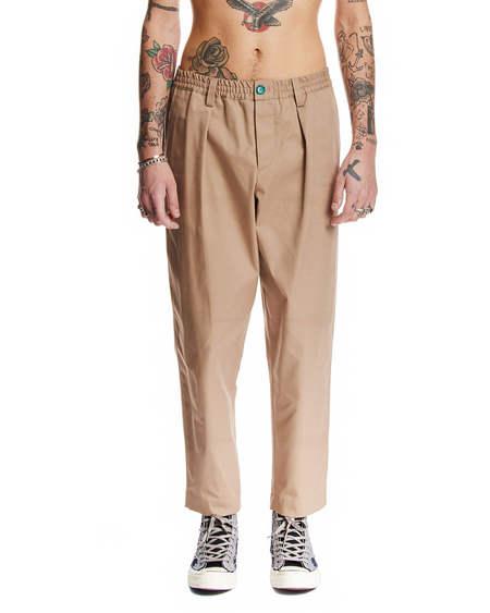 Marni Elastic Pants - Beige
