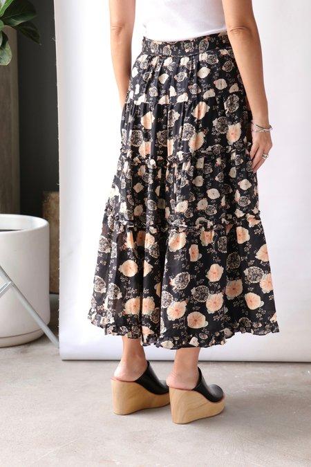 Ulla Johnson Tulia Skirt - Noir Floral
