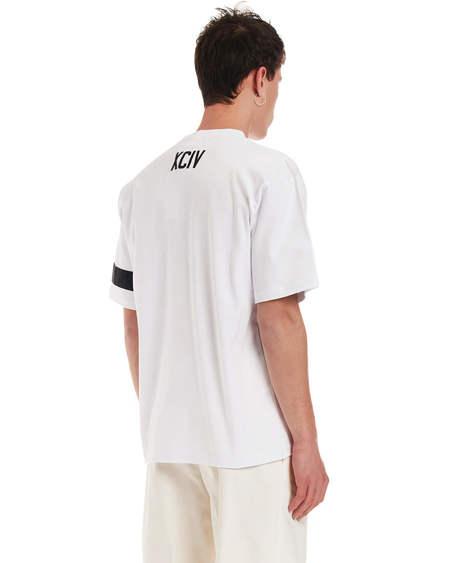 GCDS Embroidery Tshirt - White