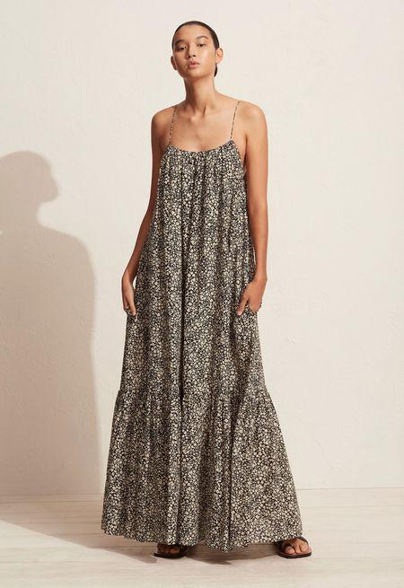 Matteau Single Tier Sundress Dress - Golden Primrose