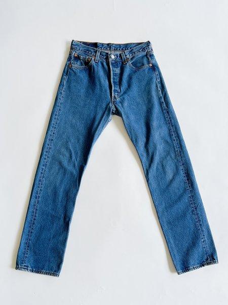 Vintage Levi's 501 Medium Wash Denim - blue
