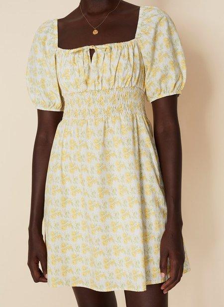 Faithfull the Brand Mariette Mini Dress - Floral Print