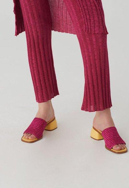 Paloma Wool Oslo II Sandal - Fuchsia