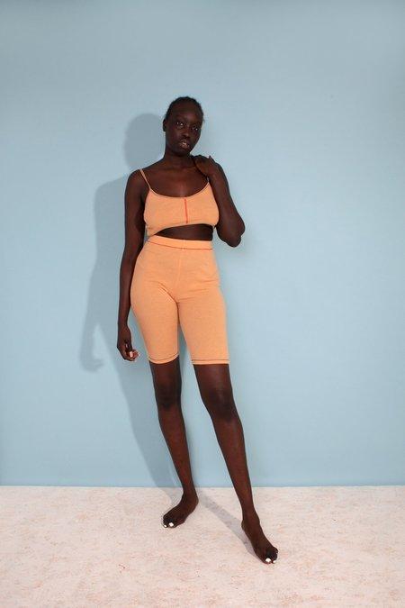 L.F.Markey Helios Bike Shorts - Apricot