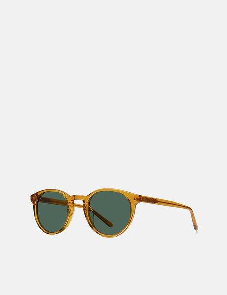 YMC x Bridges & Brows Albert Sunglasses - Honey/Solid Green