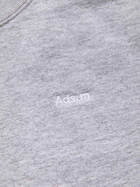 Adsum Classic Logo Crewneck - Bleached Heather