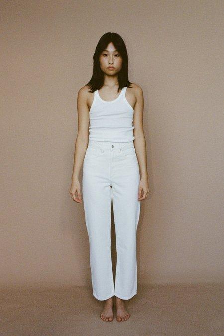 NEUW Edie Straight Jean - White