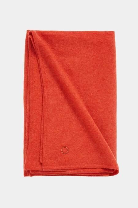 Oyuna Daya Cashmere Throw - Orange
