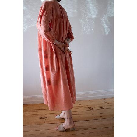 Apiece Apart Mari Pintuck Dress - Clay