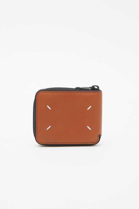 Maison Margiela Calf Leather Ziparound wallet - CUOIO H4200