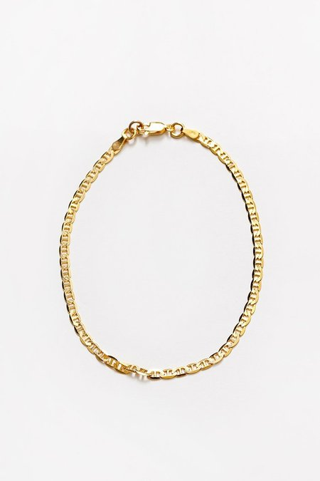 Wolf Circus Toni Anklet - Gold