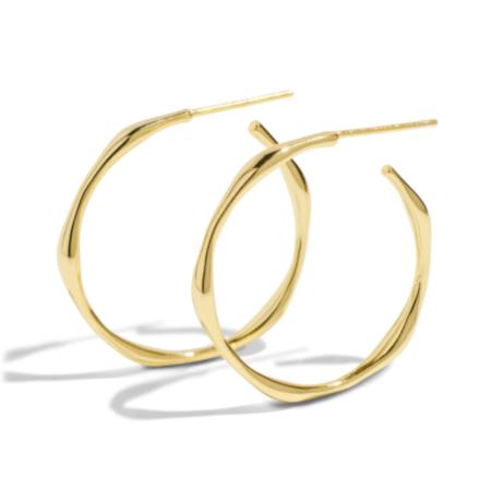 BOUND STUDIOS Coco Hoop Earrings - Gold