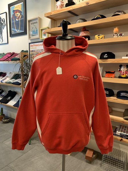 Vintage Lucky Chances Casino Hooded Sweatshirt - Red