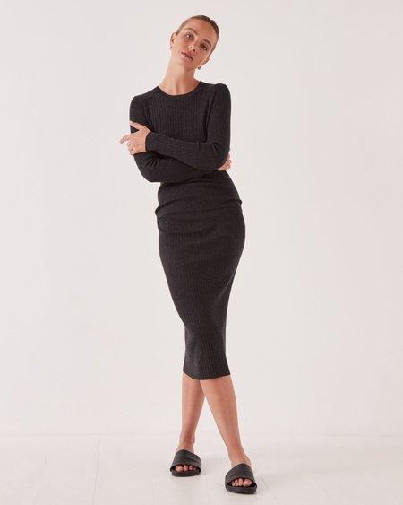 Ella Long Sleeve Knit - Graphite Marle