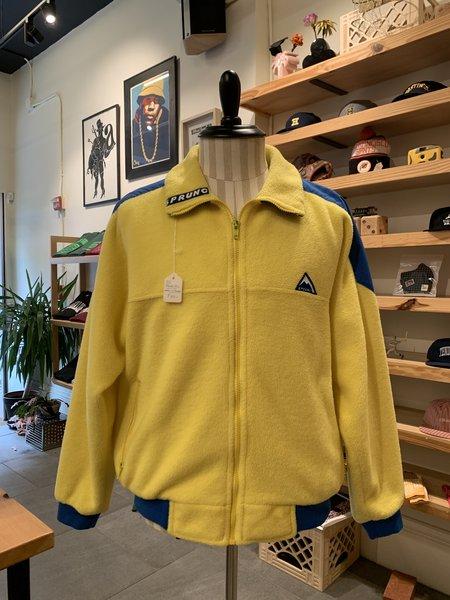 Vintage Tilted Brim Sprung Fleece Jacket - Yellow