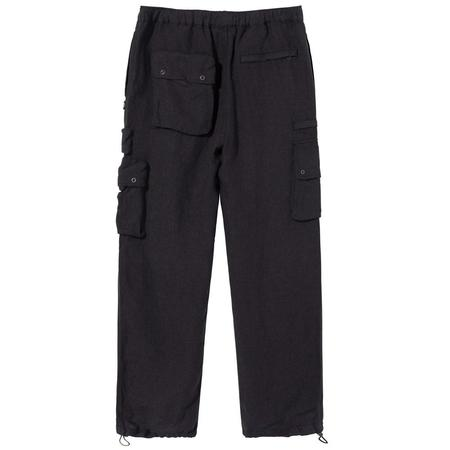 Stussy Linen Utility Pant - Black