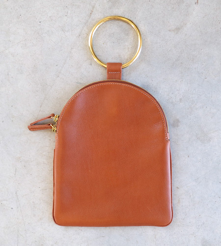Otaat/Myers Large Ring Pouch in Russet