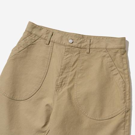 Uniform Bridge Round Pocket Shorts - Beige