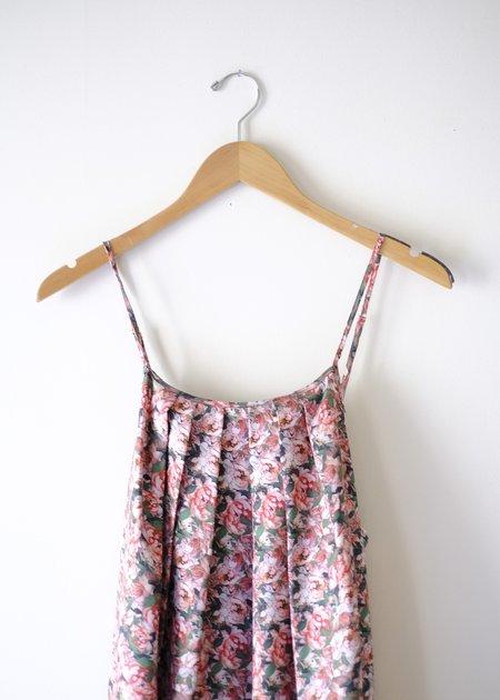 Christine Alcalay Jamie Silk Dress - Peony Print