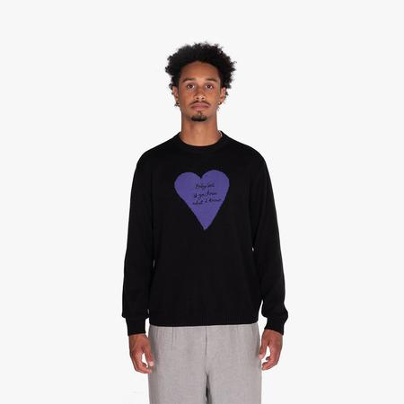 Awake NY Baby Girl Crewneck sweater - Black