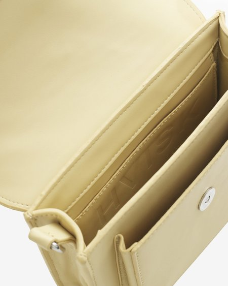 Hvisk Cayman Pocket Responsible Bag - Pastel Yellow