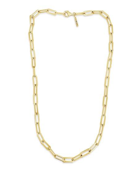 Sierra Winter Jewelry The Hank Necklace - Gold Vermeil