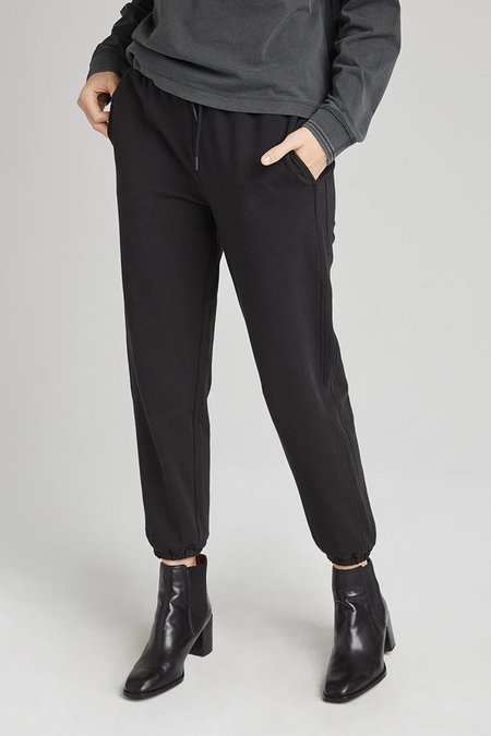 Richer Poorer TERRY CLASSIC SWEATPANT - Limo Black