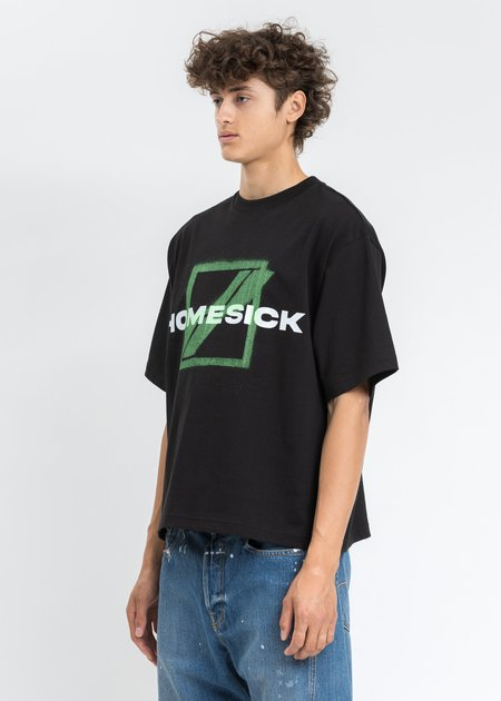 we11done Homesick Big Logo T-Shirt - Black