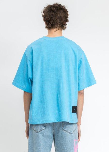 we11done Homesick Big Logo T-Shirt - Blue