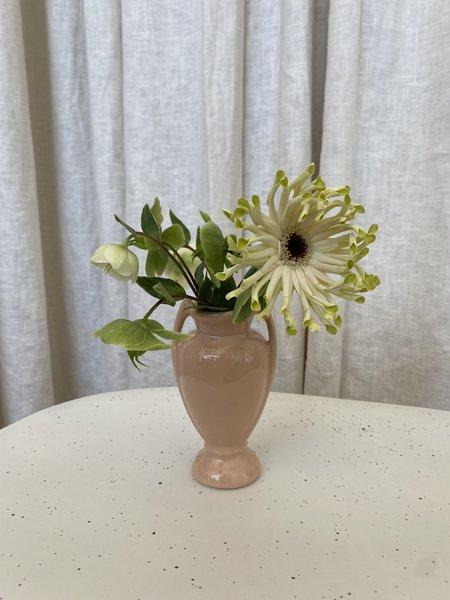 Vintage Ceramic Vase - Tan