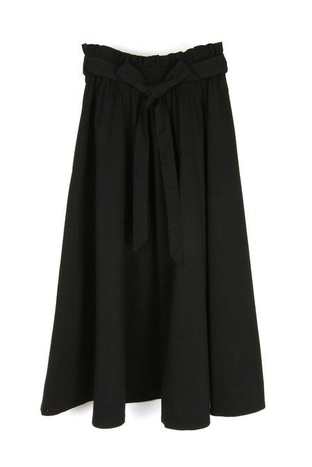 amannna Belted Safari Skirt - Black