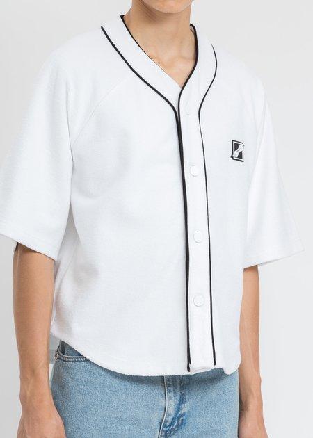 we11done Baseball Jersey Shirt - White