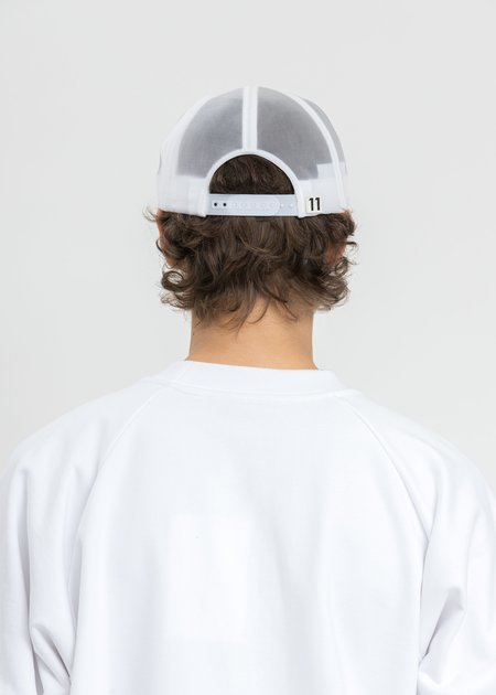 We11done Lined Sailing Cap - White