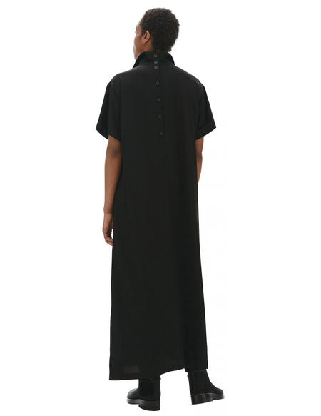 Yohji Yamamoto Black Dress