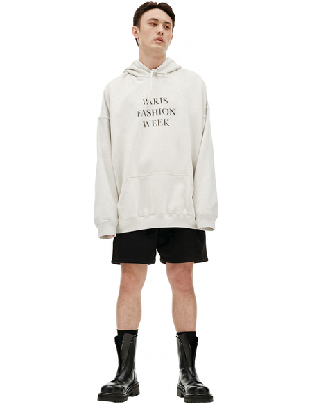 Balenciaga Fashion Week Hoodie sweater - Beige