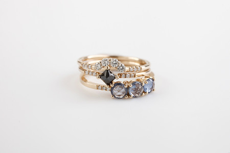 Jennie Kwon Designs Diamond Arch Ring